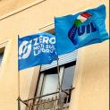 #ZeroMortiSulLavoro Nelle sedi della Uil Trapani sventolano le bandiere della campagna lanciata dal sindacato a livello nazionale per chiedere sicurezza e salute sui luoghi di lavoro