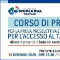 Corso di preparazione al TFA Sostegno 2020 - Lunedì incontro informativo gratuito Uil Scuola e Irase Trapani