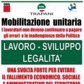 Cgil, Cisl e Uil. Sabato 31 ottobre a Trapani mobilitazione su