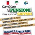 """""""Cambiare le pensioni e dare lavoro ai giovani"""". Il 2 aprile a Trapani mobilitazione Cgil, Cisl e Uil"""