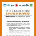 Bancari in sciopero per il rinnovo del contratto di categoria - La Uilca Trapani domani alla manifestazione di Palermo