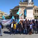 I lavoratori dell'Agenzia delle Entrate di Trapani manifestano a Palermo - La Uilpa chiede turn over e migliori condizioni di lavoro