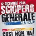 Lettera aperta del segretario generale Uil Trapani Eugenio Tumbarello - Appello a partecipare allo sciopero generale del 12 dicembre