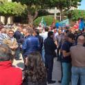 Riforma Province. Sit-in davanti la Prefettura dei lavoratori dell'ex Provincia Regionale di Trapani