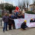 Oggi sit in Prefettura dei lavoratori della Pellegrino Group. Sindacati chiedono incontro con Agenzia beni confiscati alla mafia